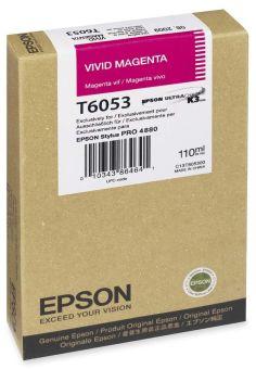 Originální cartridge EPSON T6053 (Živě purpurová)