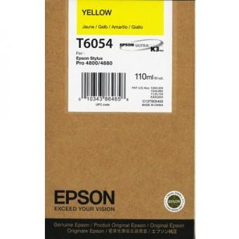 Originální cartridge EPSON T6054 (Žlutá)