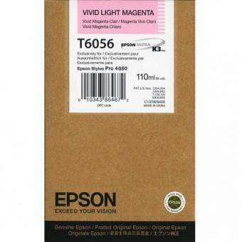 Originální cartridge EPSON T6056 (Živě světle purpurová)