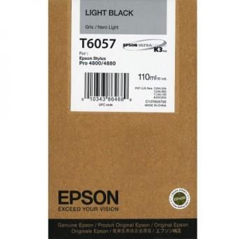 Originální cartridge EPSON T6057 (Světle černá)