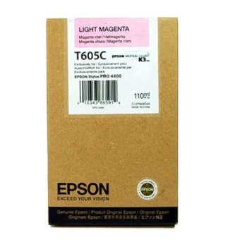 Originální cartridge EPSON T605C (Světle purpurová)