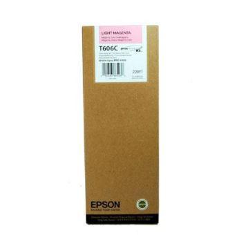 Originální cartridge EPSON T606C (Světle purpurová)