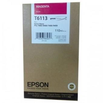 Originální cartridge EPSON T6113 (Purpurová)