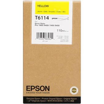 Originální cartridge EPSON T6114 (Žlutá)
