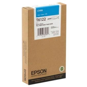 Originální cartridge EPSON T6122 (Azurová)