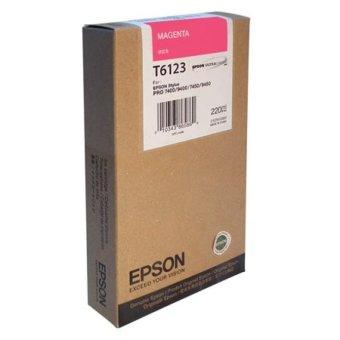 Originální cartridge EPSON T6123 (Purpurová)