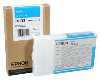 Originální cartridge EPSON T6132 (Azurová)