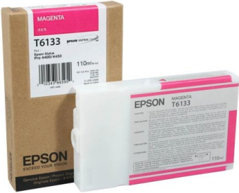 Originální cartridge EPSON T6133 (Purpurová)