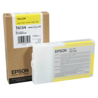 Originální cartridge EPSON T6134 (Žlutá)