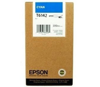Originální cartridge EPSON T6142 (Azurová)
