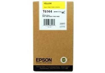 Originální cartridge EPSON T6144 (Žlutá)