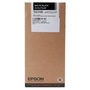 Originální cartridge EPSON T6148 (Matná černá)
