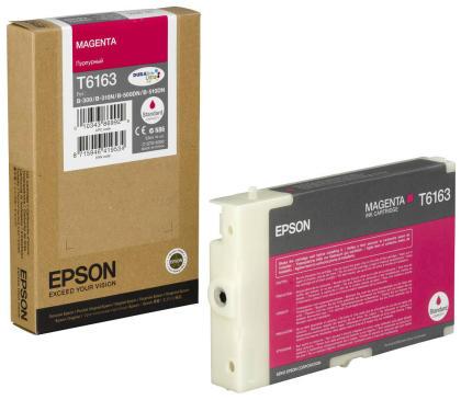Originální cartridge EPSON T6163 (Purpurová)
