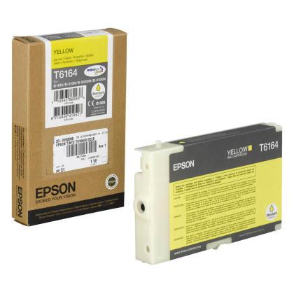 Originální cartridge EPSON T6164 (Žlutá)