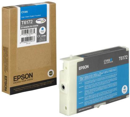 Originální cartridge EPSON T6172 (Azurová)
