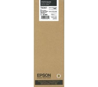 Originální cartridge EPSON T6361 (Foto černá)