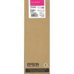 Cartridge do tiskárny Originální cartridge EPSON T6363 (Živě purpurová)
