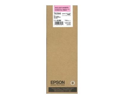 Originální cartridge EPSON T6366 (Živě světle purpurová)