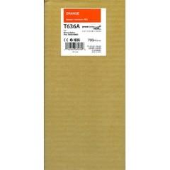 Cartridge do tiskárny Originální cartridge EPSON T636A (Oranžová)