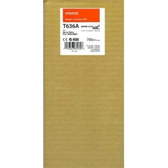 Originální cartridge EPSON T636A (Oranžová)
