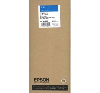 Originální cartridge EPSON T6422 (Azurová)