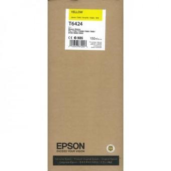 Originální cartridge EPSON T6424 (Žlutá)