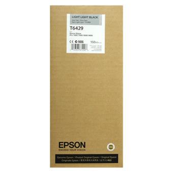 Originální cartridge EPSON T6429 (Světle světle černá)
