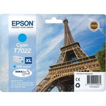 Originální cartridge EPSON T7022 XL (Azurová)
