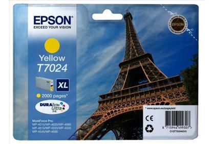 Originální cartridge EPSON T7024 XL (Žlutá)