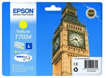 Originální cartridge EPSON T7034 L (Žlutá)