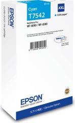 Cartridge do tiskárny Originální cartridge Epson T7542 (Azurová)
