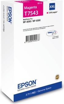 Originální cartridge Epson T7543 (Purpurová)
