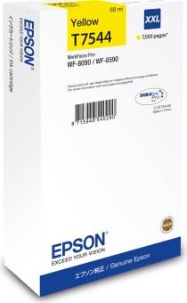 Originální cartridge Epson T7544 (Žlutá)