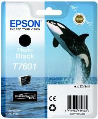 Cartridge do tiskárny Originální cartridge EPSON T7601 (Foto černá)