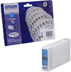 Cartridge do tiskárny Originální cartridge EPSON T7912 (Azurová)