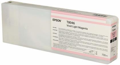 Originální cartridge EPSON T8046 (Světle purpurová)