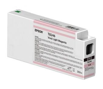 Originální cartridge Epson T8246 (Světle purpurová)