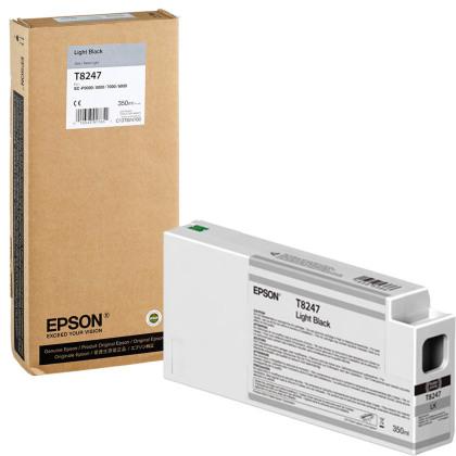 Originální cartridge Epson T8247 (Světle černá)