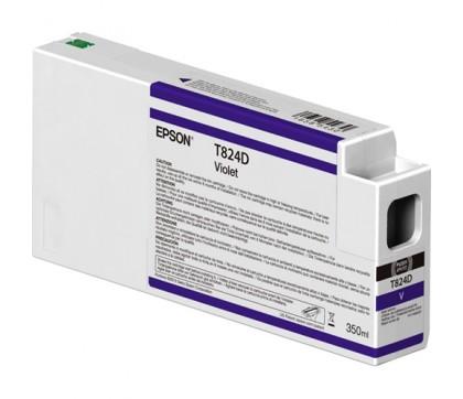 Originální cartridge EPSON T824D (Fialová)