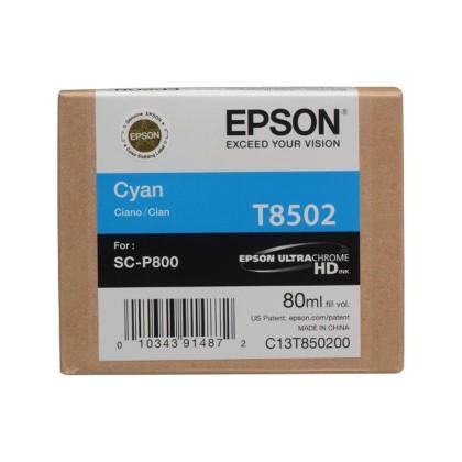 Originální cartridge EPSON T8502 (Azurová)