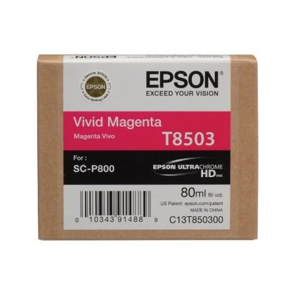 Originální cartridge EPSON T8503 (Purpurová)