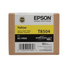 Cartridge do tiskárny Originální cartridge EPSON T8504 (Žlutá)