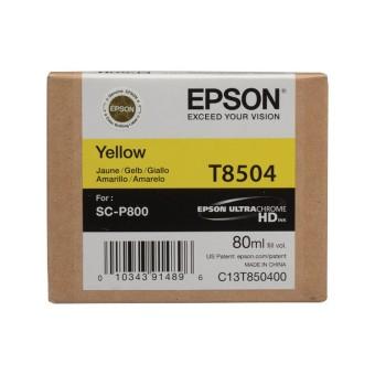 Originální cartridge EPSON T8504 (Žlutá)
