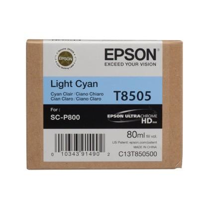 Originální cartridge EPSON T8505 (Světle azurová)