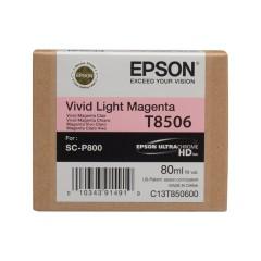 Cartridge do tiskárny Originální cartridge EPSON T8506 (Světle purpurová)