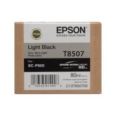 Cartridge do tiskárny Originální cartridge Epson T8507 (Světle černá)