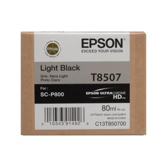 Originální cartridge Epson T8507 (Světle černá)