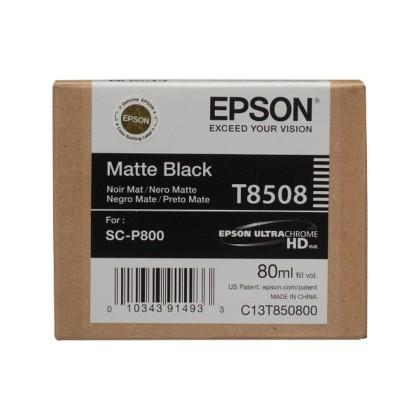 Originální cartridge EPSON T8508 (Matná černá)