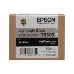 Cartridge do tiskárny Originální cartridge Epson T8509 (Světle světle černá)