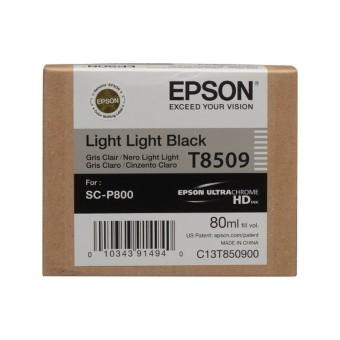 Originální cartridge Epson T8509 (Světle světle černá)